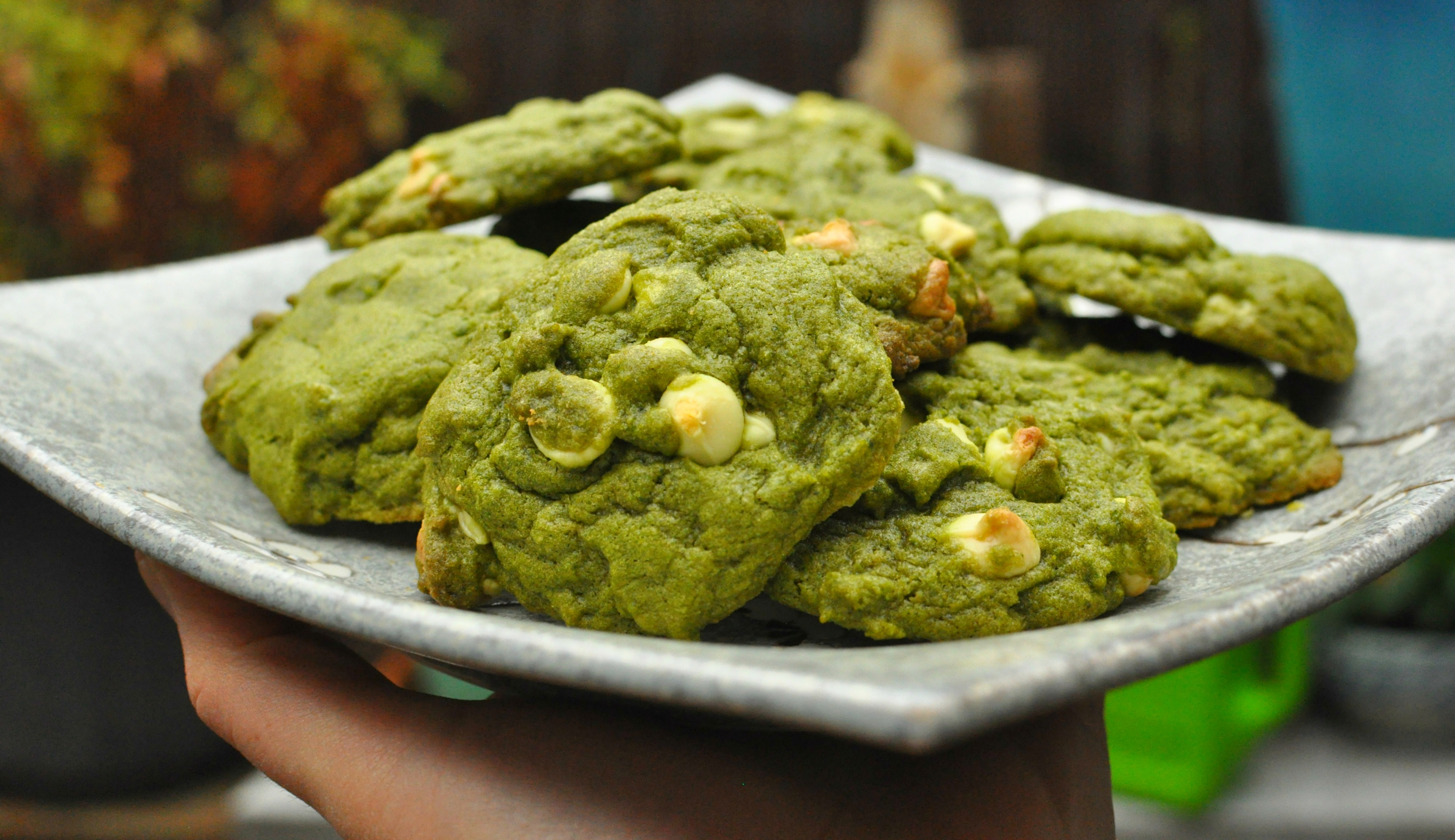 Matcha White Chocolate Cookies Recipe - BeMatcha